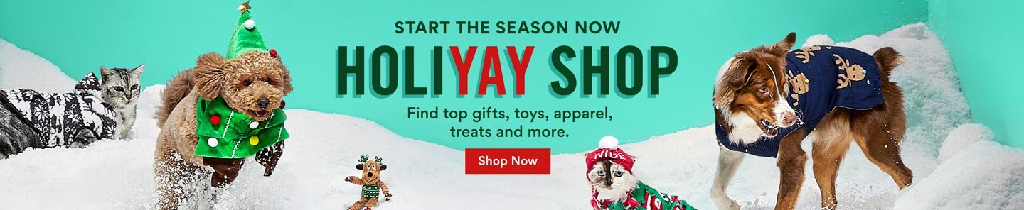 Start the season now. Holiyay Shop. Find top gifts, toys, apparel, treats and more. Shop Now.