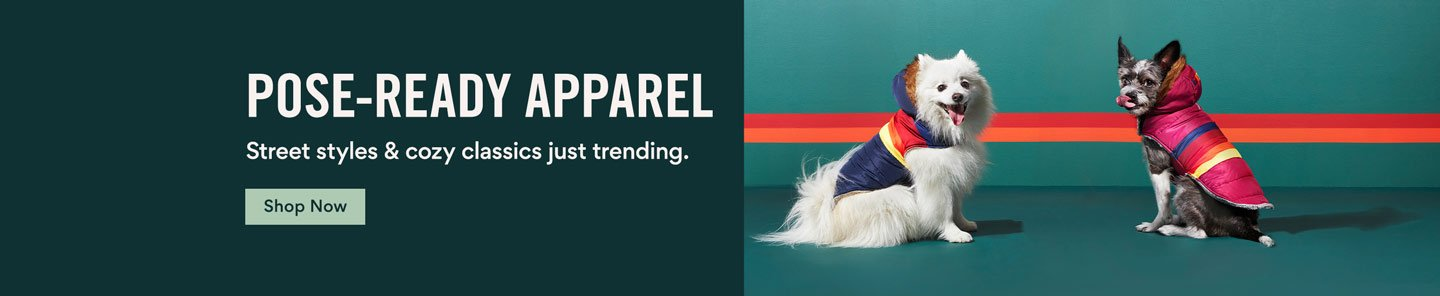Pose-ready apparel. Street styles & cozy classics just trending. Shop Now.