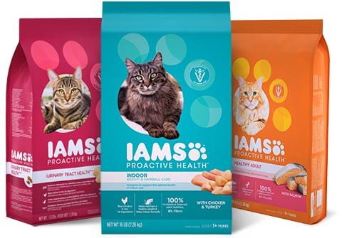 IAMS - Vet-Trusted and Loved by Cats