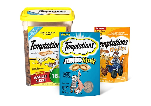 Temptations - The Purrrfect Treat for Snack Time, Playtime, or Anytime