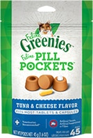 Feline Greenies™ Pill Pockets™ Treats Tuna & Cheese Flavor