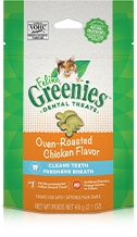 Feline Greenies™ Dental Treats Oven-Roasted Chicken Flavor