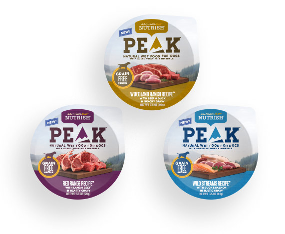 PEAK Wet Food for Dogs