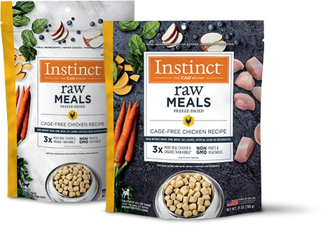 Instinct Raw Freeze Dried Meals